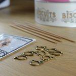 brass Kittens marcadores cabeza de gato