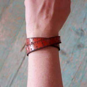 Ruler bracelet The Lana Box