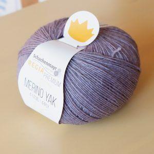 07509 Lavendel meliert Merino Yak