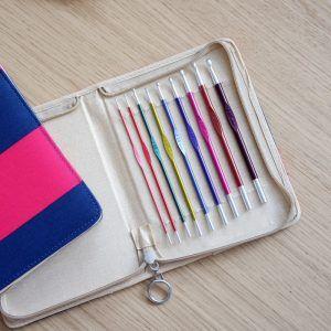 Knit pro set de agujas crochet Zing