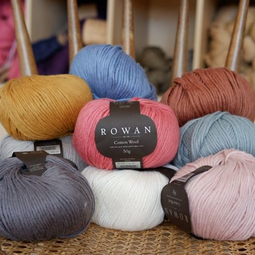 ROWAN COTTON WOOL 3