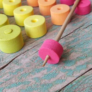 Cocoknits Colorful Stitch stoppers topes para agujas 3